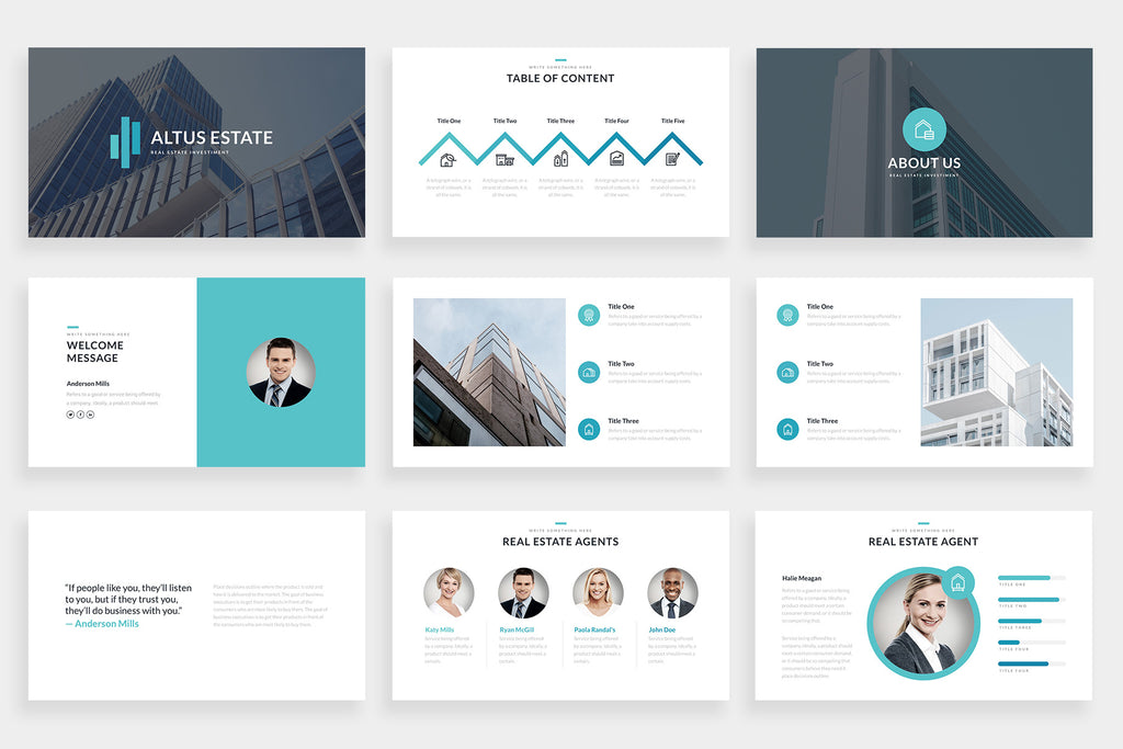 Altus PowerPoint Template
