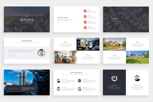 Antara PowerPoint Template
