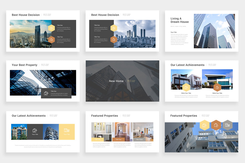Realtiven PowerPoint Template