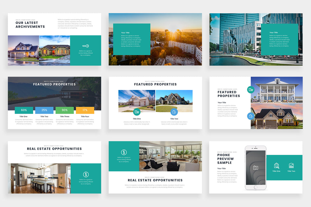 Verona PowerPoint Template