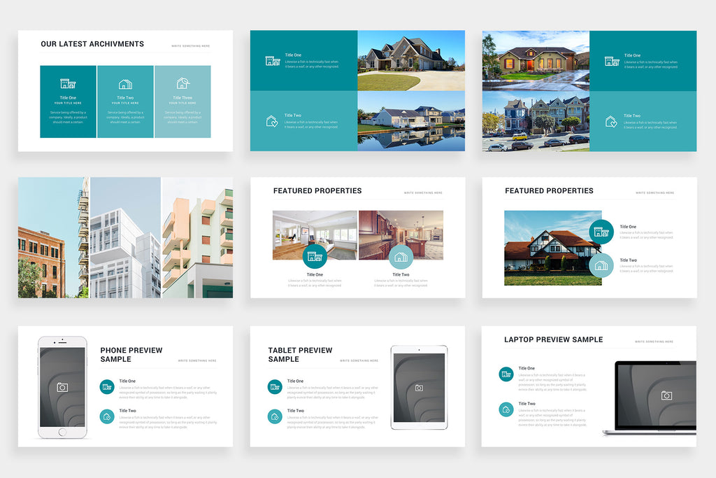 Weslayan Google Slides Template