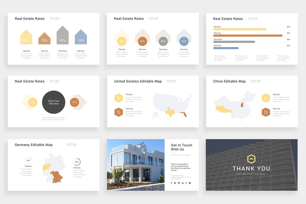 Realtiven Google Slides Template