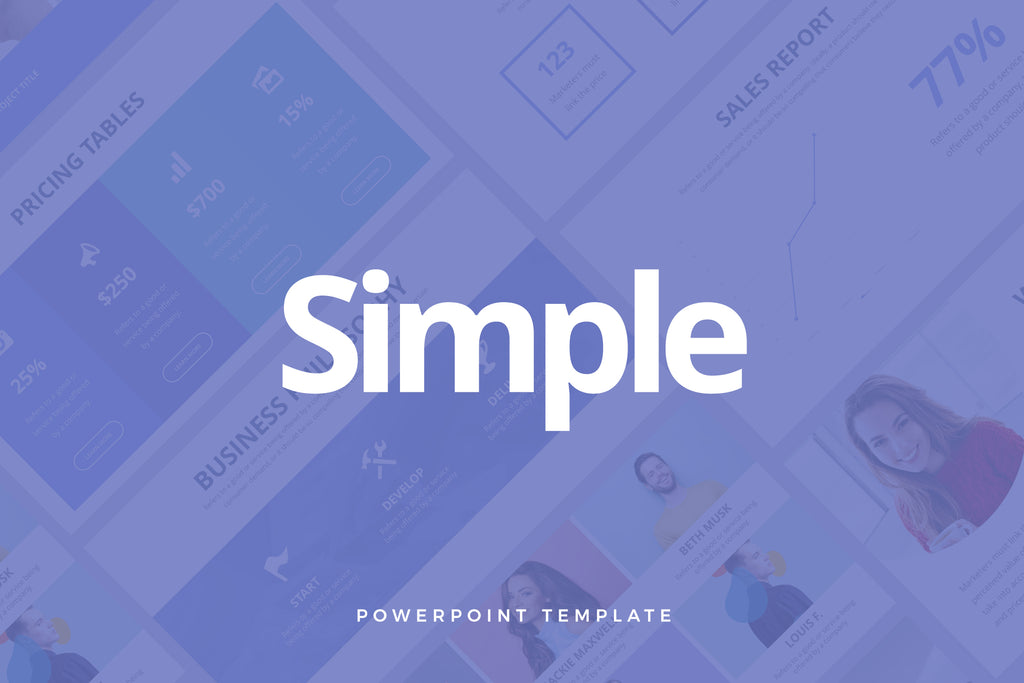 Simple PowerPoint Template - Presentation Templates on Slideforest