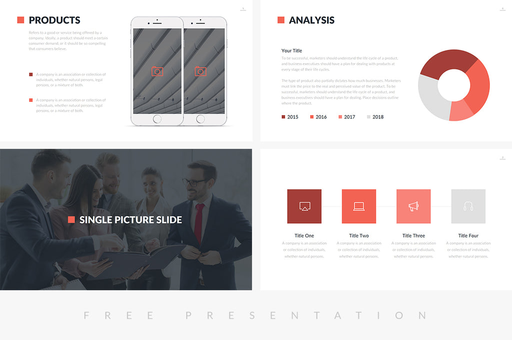 Pomona Free Business Presentation Template - Presentation Templates on Slideforest