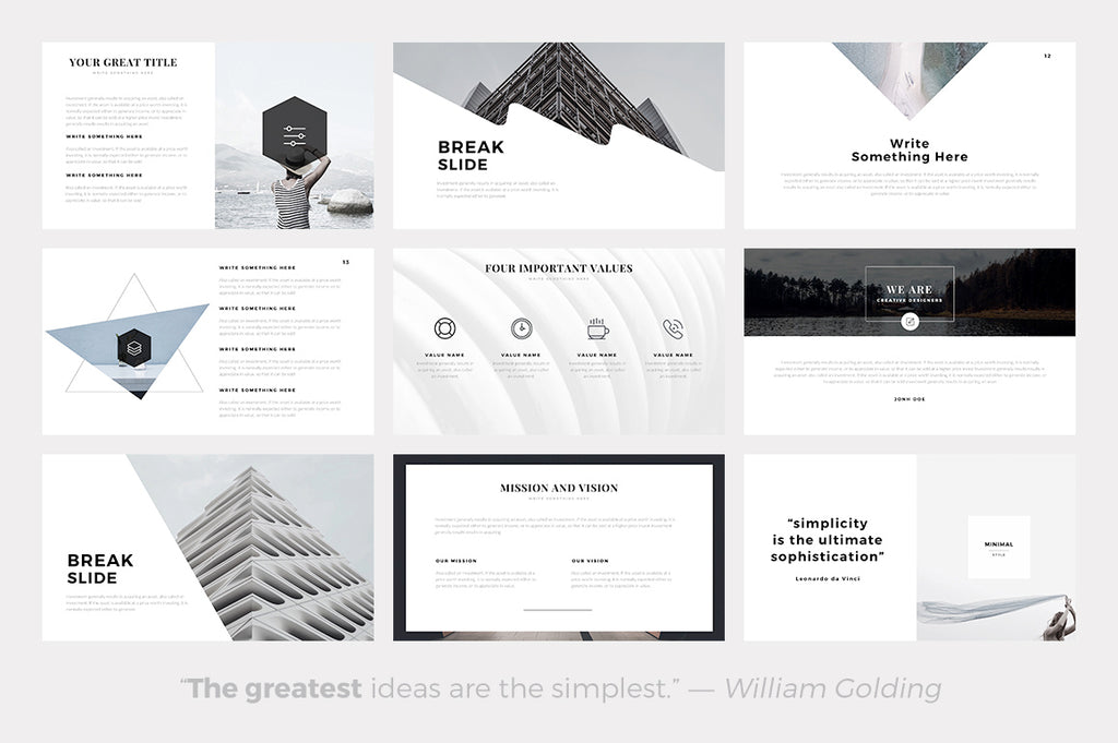 Sphere Minimal Powerpoint Template