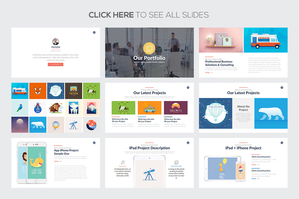 Startup Business Google Slides Template