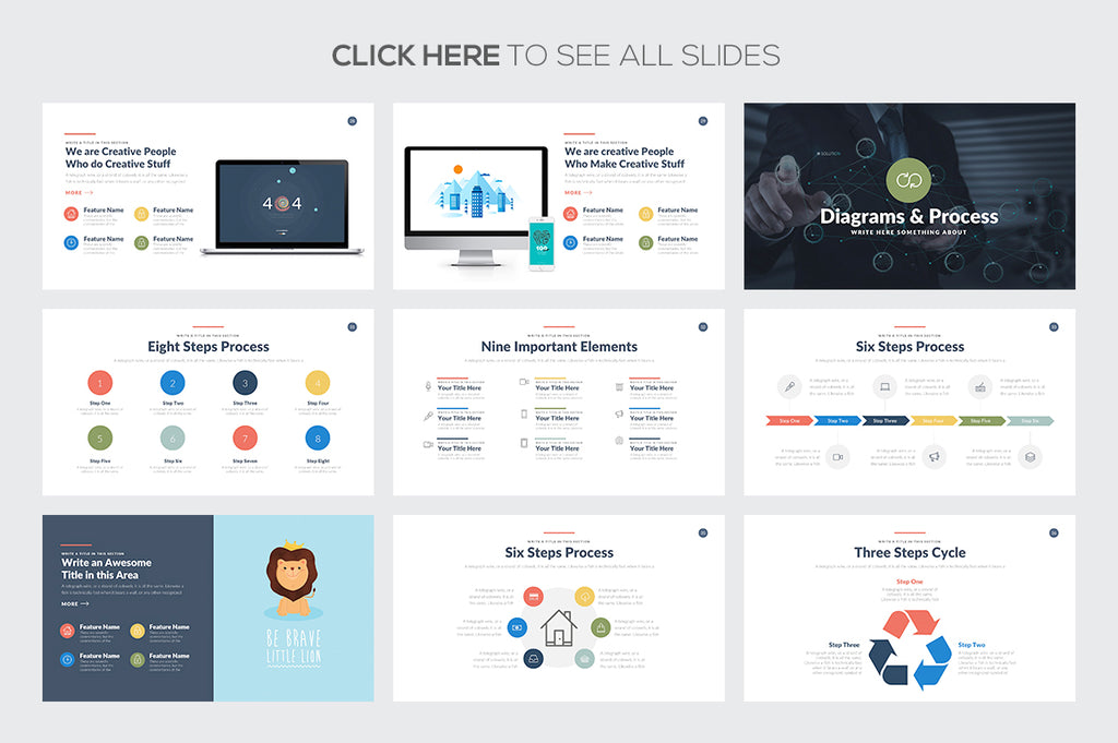 Startup Business Google Slides Template - Presentation Templates on Slideforest