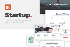 Company Startup PowerPoint Template - Presentation Templates on Slideforest