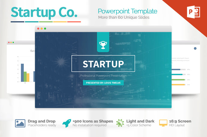 Startup Pitch Deck Powerpoint Template - Presentation Templates on Slideforest