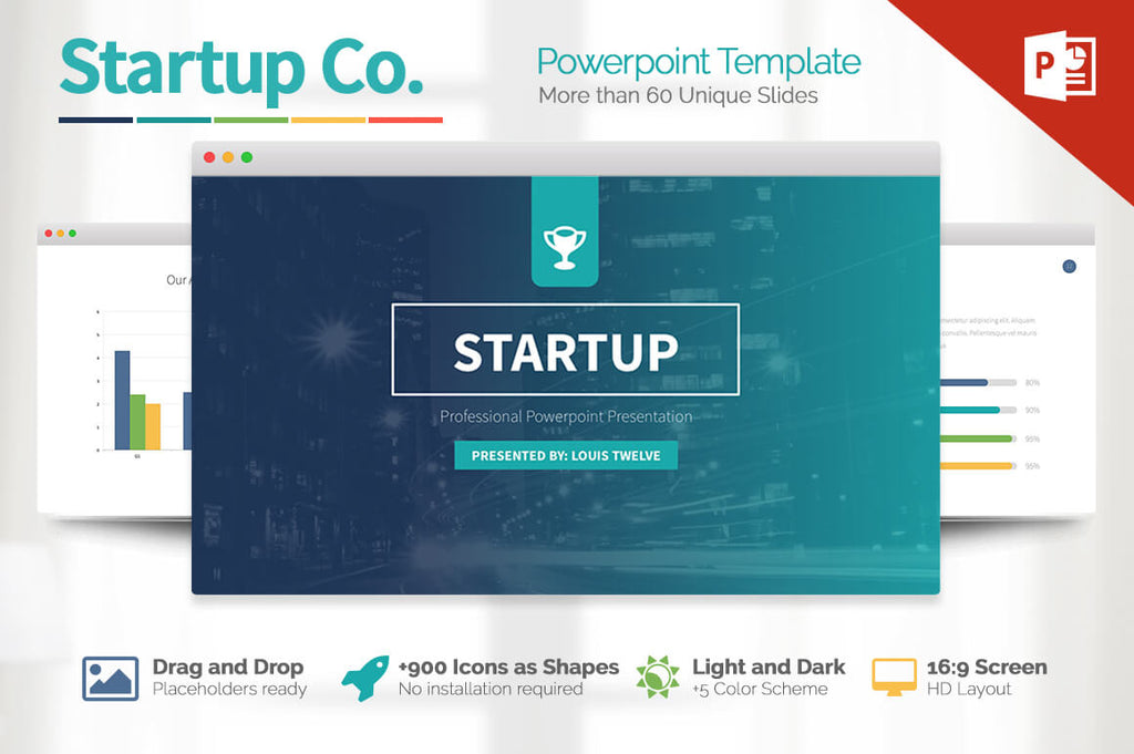IMPERIO Powerpoint + Keynote + Google Slides Templates