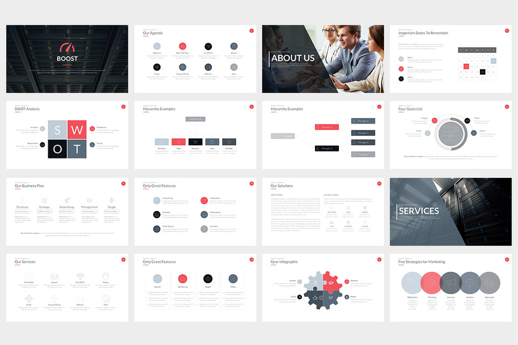 Boost Keynote Template - Presentation Templates on Slideforest