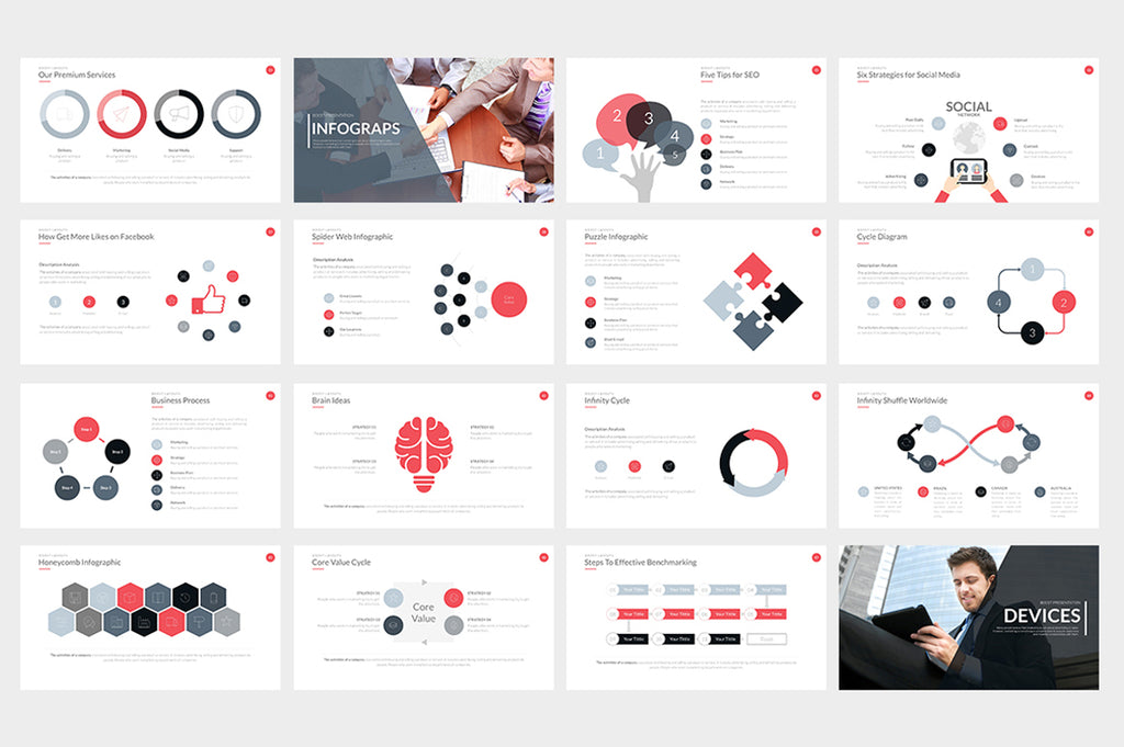 Boost Powerpoint Template - Presentation Templates on Slideforest