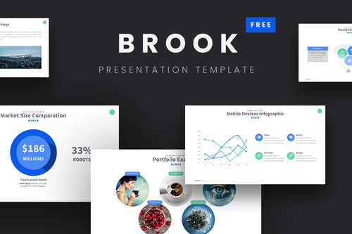 Brook Free Presentation Template - Presentation Templates on Slideforest