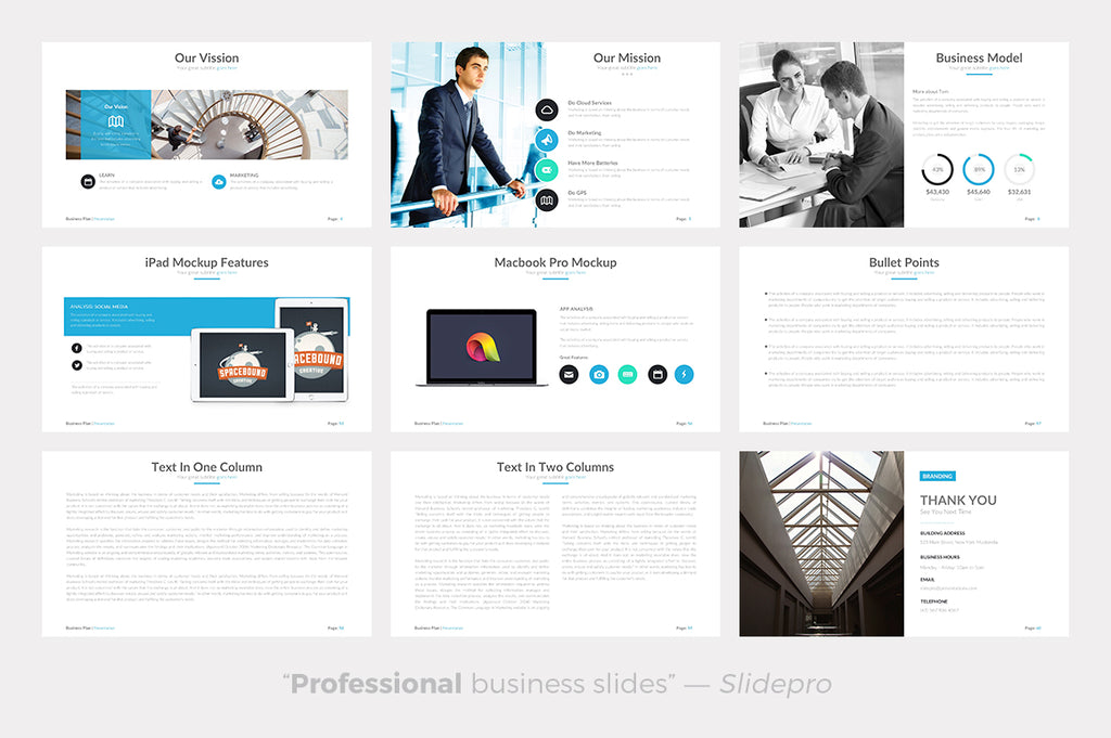 Business Plan Ultimate Powerpoint Template - Presentation Templates on Slideforest