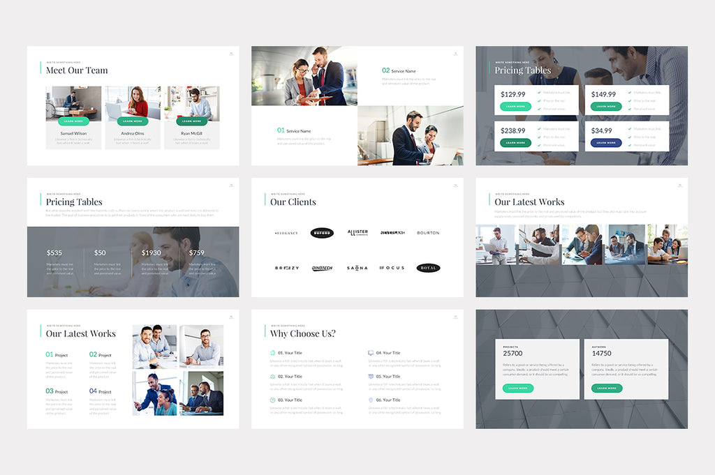 Carson PowerPoint Template - Presentation Templates on Slideforest