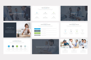 Chester PowerPoint Template - Presentation Templates on Slideforest