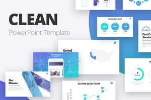 Free presentation templates slideforest clean powerpoint template presentation templates on slideforest toneelgroepblik Image collections