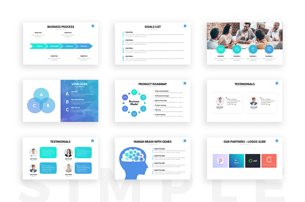 Clean powerpoint template presentation templates on slideforest clean powerpoint template toneelgroepblik