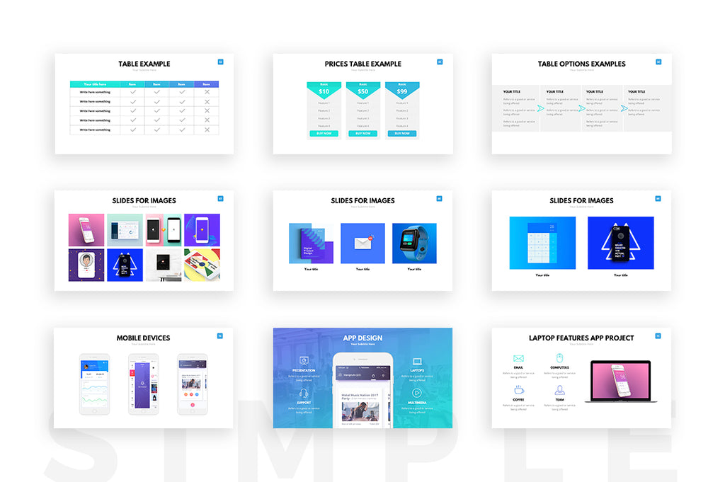 Clean powerpoint template presentation templates on slideforest clean powerpoint template toneelgroepblik Image collections