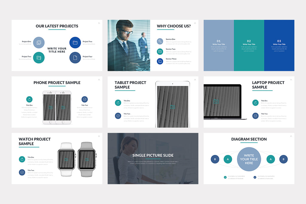 Corbert Keynote Template - Presentation Templates on Slideforest