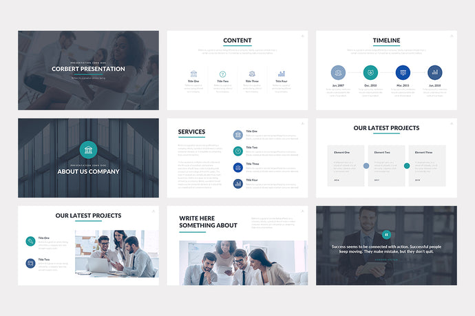 Corbert PowerPoint Template - Presentation Templates on Slideforest