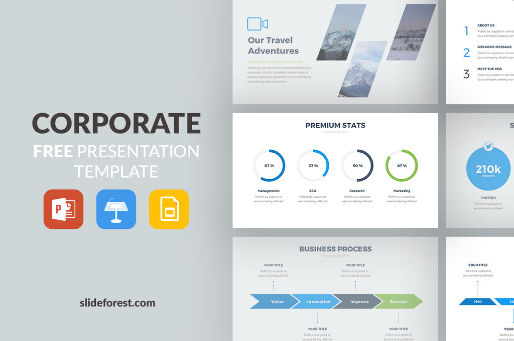 Free Powerpoint Templates Business Narco Penantly Co
