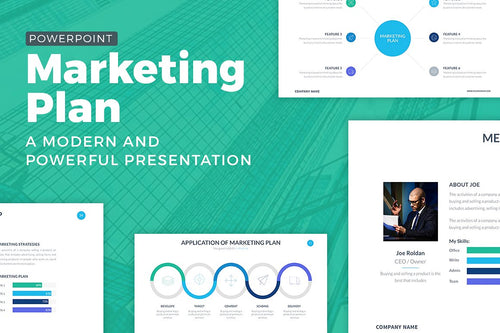 Marketing Plan Powerpoint Template - Presentation Templates on Slideforest