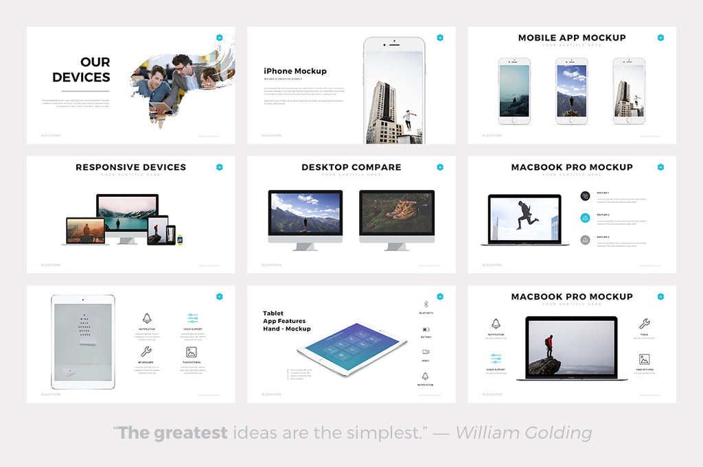 Elevation Google Slides Template - Presentation Templates on Slideforest