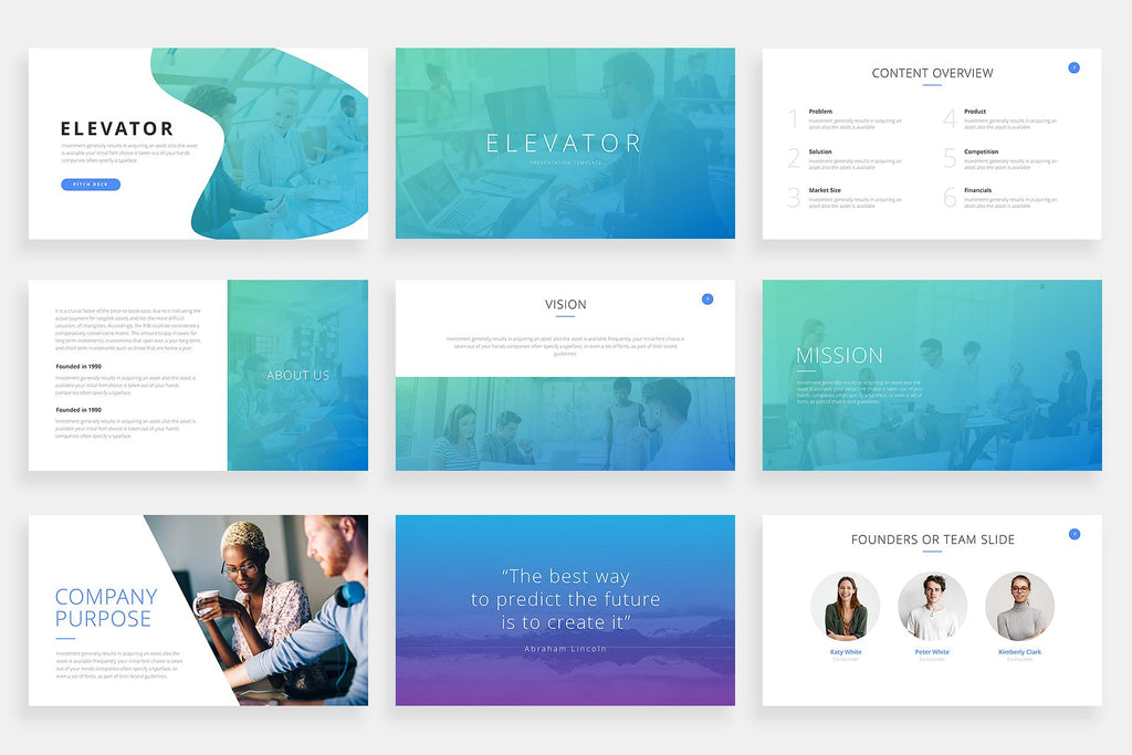 Elevator Keynote Template - Presentation Templates on Slideforest