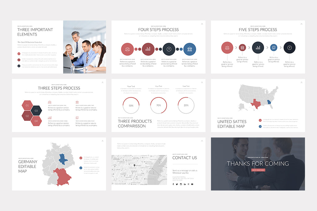 Georgia PowerPoint Template - Presentation Templates on Slideforest