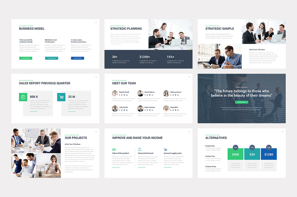 Grace PowerPoint Template - Presentation Templates on Slideforest