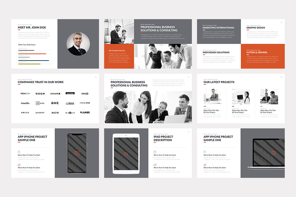 Hamilton Keynote Template - Presentation Templates on Slideforest