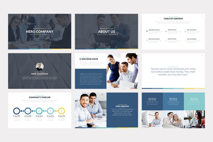 Hero PowerPoint Template