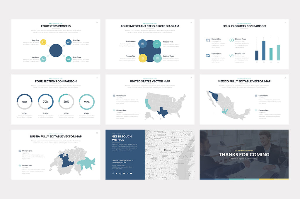 Hero PowerPoint Template - Presentation Templates on Slideforest