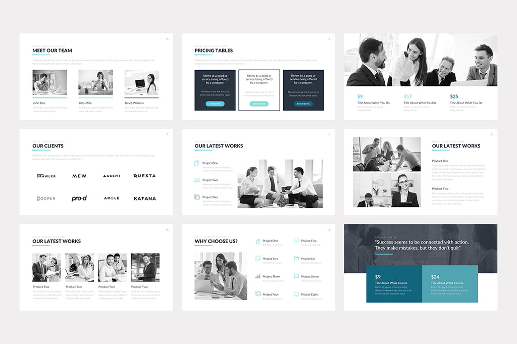 Hudson Google Slides Template - Presentation Templates on Slideforest