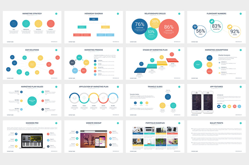 Impreza Powerpoint Template - Presentation Templates on Slideforest