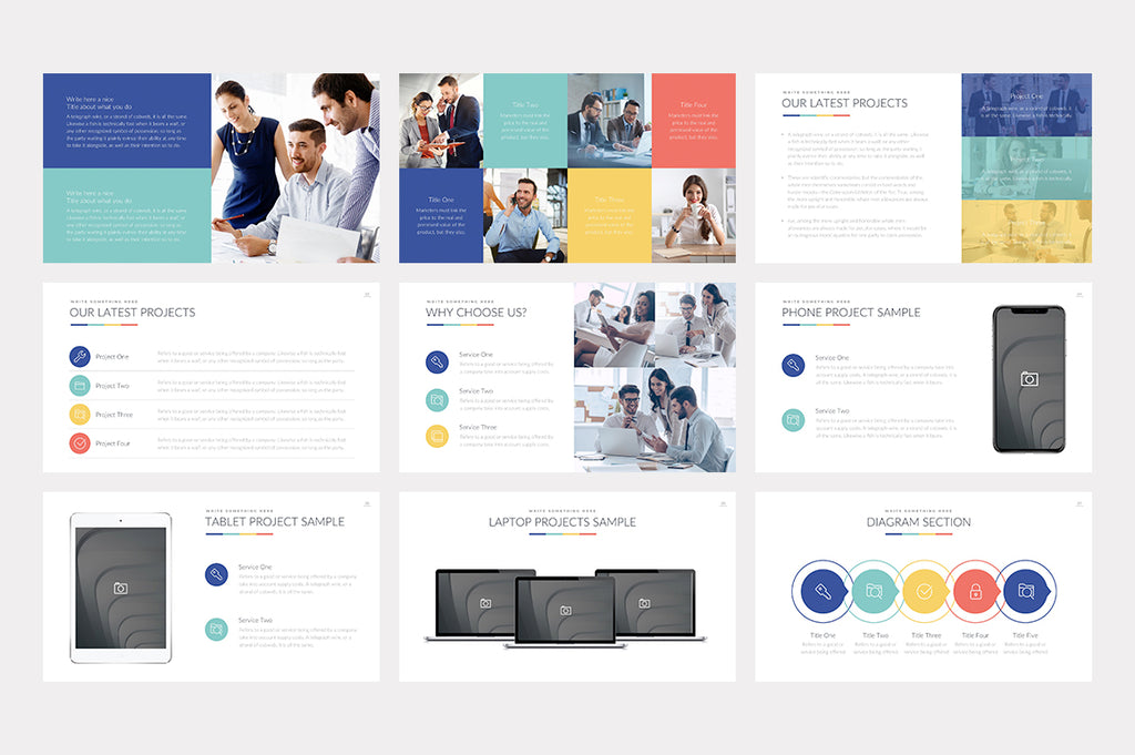 Inder Google Slides Template