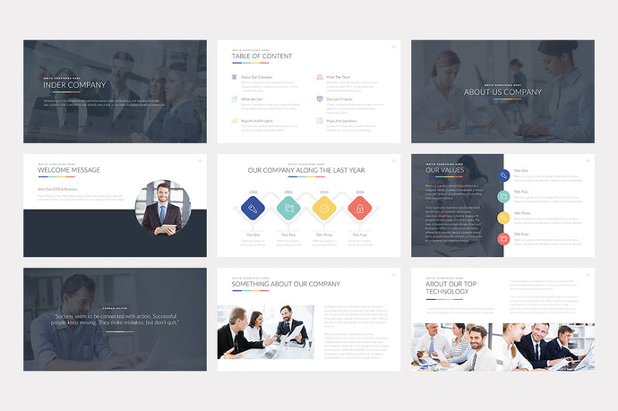 Inder PowerPoint Template - Presentation Templates on Slideforest