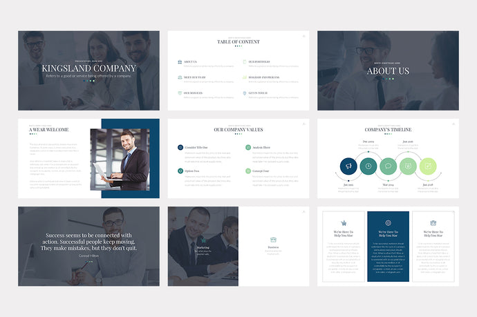Kingsland PowerPoint Template - Presentation Templates on Slideforest
