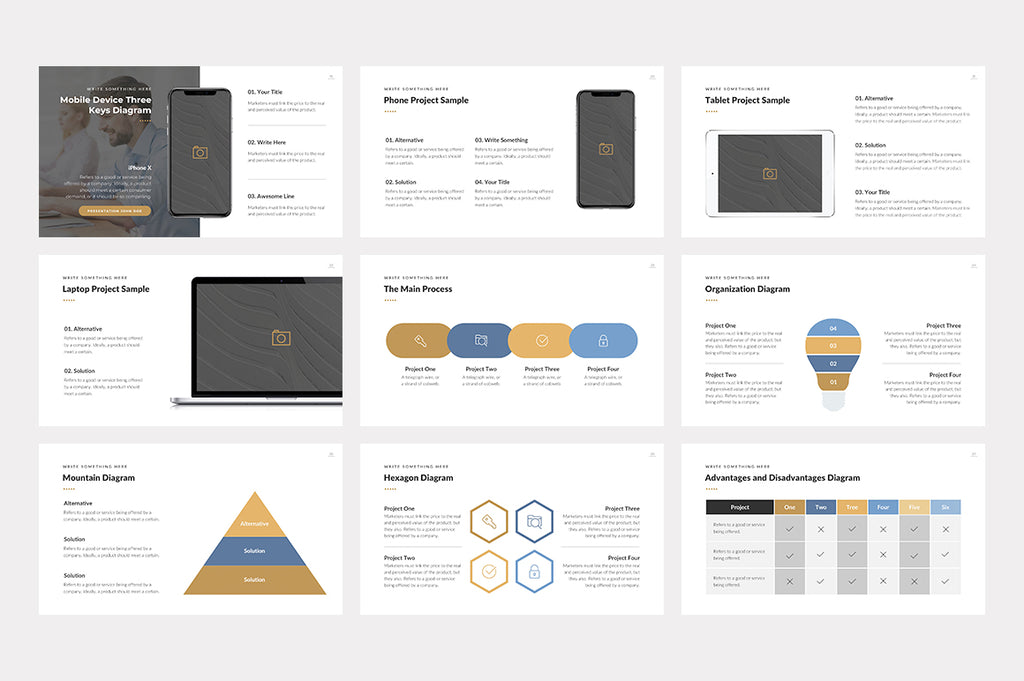 Lincoln Google Slides Template - Presentation Templates on Slideforest