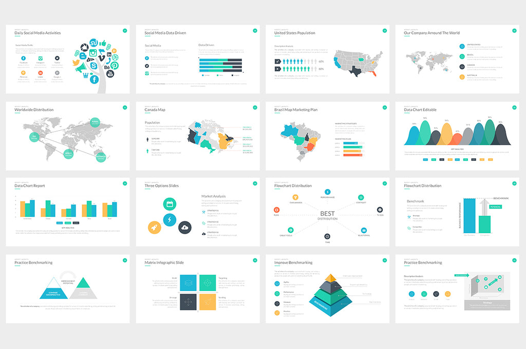 Metropolis Powerpoint Template - Presentation Templates on Slideforest