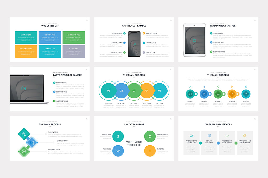 Monteblanco Google Slides Template