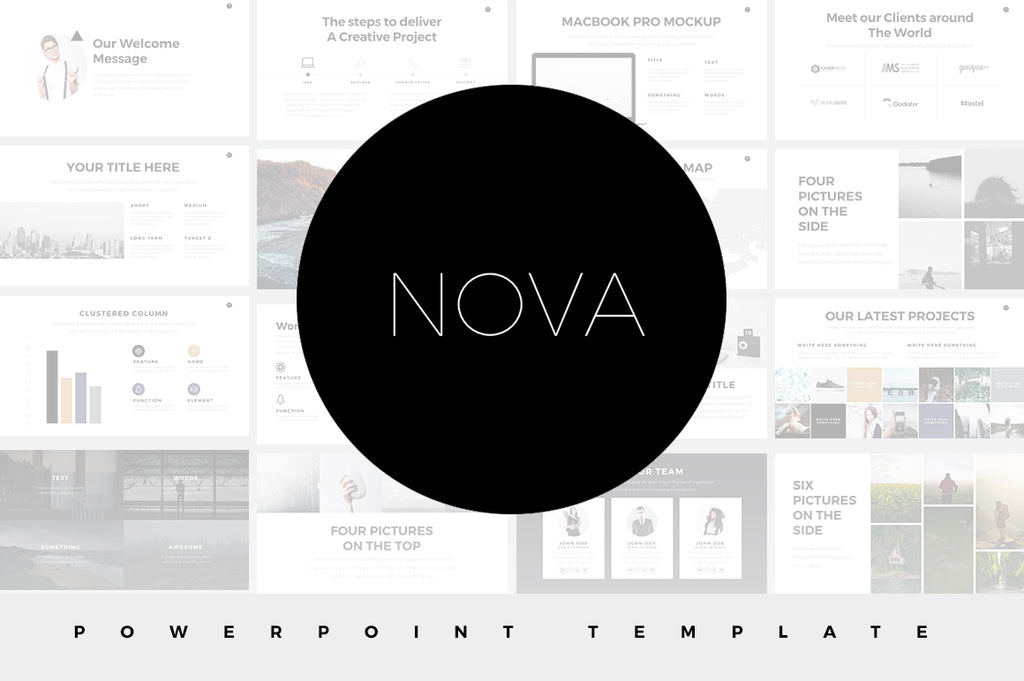 Minimal Powerpoint Templates Bundle - Presentation Templates on Slideforest