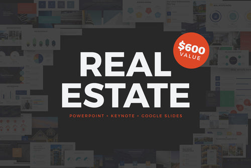 Real Estate Powerpoint + Keynote + Google Slides