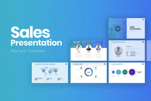 Sales Keynote Template - Presentation Templates on Slideforest