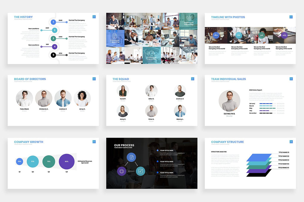 Sales Powerpoint Template - Presentation Templates on Slideforest