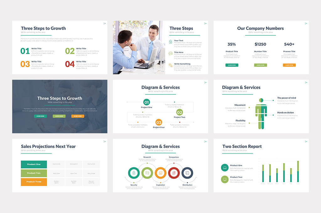 Savannah PowerPoint Template