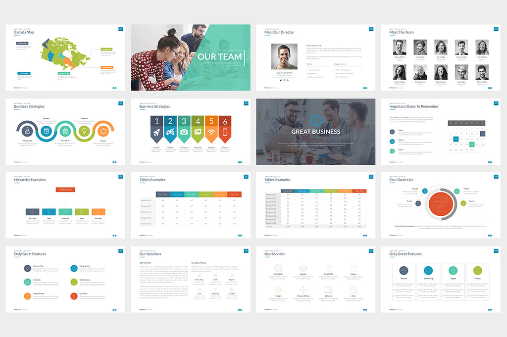 Simple & Modern Powerpoint Template