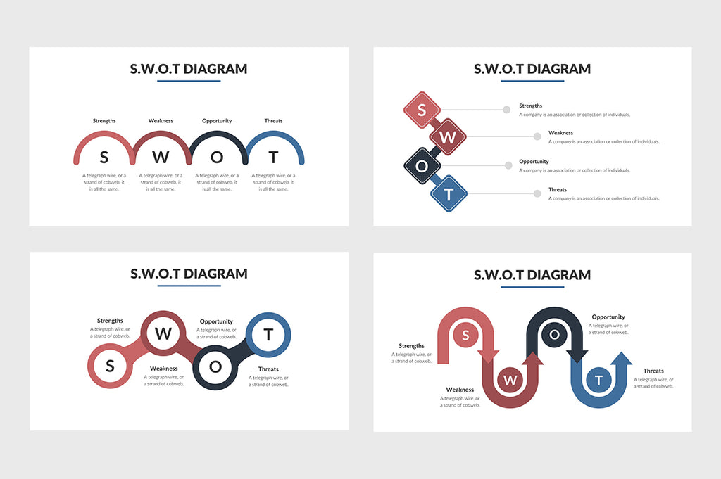 SWOT Chart PowerPoint Template 5