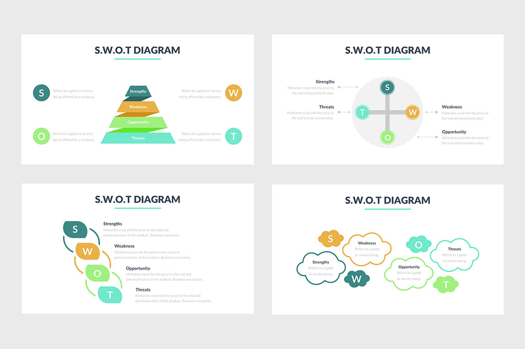 SWOT Diagram PowerPoint Template 5